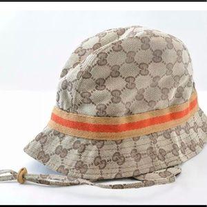Gucci GG pattern ladies hat medium